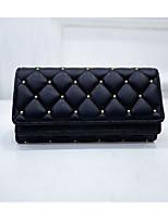 cheap -Women's Bags PU(Polyurethane) Wallet Zipper Champagne / Black / Blushing Pink