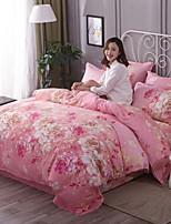 preiswerte -Bettbezug-Sets Geometrisch 100% Baumwolle Reaktivdruck 3 Stück