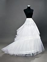 baratos -Casamento / Festa / Eventos Anáguas POLY Comprimento do Vestido Slips de Forma / Comprimento Longo com