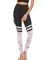 cheap -Women's Daily Sporty Legging - Color Block High Waist