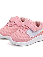 cheap -Girls' Shoes Mesh / PU(Polyurethane) Spring & Summer Comfort Athletic Shoes Walking Shoes for Kids Black / Red / Pink