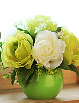 cheap -Artificial Flowers 1 Branch Classic / Single Stylish Roses Tabletop Flower