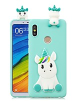 cheap -Case For Xiaomi Xiaomi Mi 6X / Mi 5X DIY Back Cover Unicorn Soft TPU for Xiaomi Redmi Note 5A / Redmi 5A / Xiaomi Redmi 4X