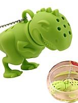 Недорогие -Силикон Чайный Динозавр 1шт Фильтры / Ситечко для чая