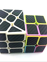 preiswerte -Zauberwürfel z-cube Set Scramble-Würfel / Floppy-Würfel 2*2*2 3*3*3 Glatte Geschwindigkeits-Würfel Rubiks Würfel Puzzle-Würfel Matt Mehr Modus Fälle mit LED-Licht Teen Erwachsene Spielzeuge Alles