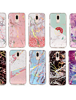 cheap -Case For Huawei Mate 10 lite / Mate 10 IMD / Pattern Back Cover Marble Soft TPU for Mate 10 / Mate 10 pro / Mate 10 lite