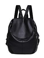 cheap -Women's Bags PU(Polyurethane) School Bag Zipper Black