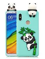 Недорогие -Кейс для Назначение Xiaomi Mi 6X / Mi 5X Своими руками Кейс на заднюю панель Панда Мягкий ТПУ для Redmi Note 5A / Redmi 5A / Xiaomi Redmi 4X