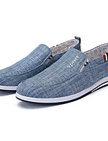 cheap -Men's Cotton Spring Comfort Loafers & Slip-Ons Dark Blue / Light Grey / Light Blue