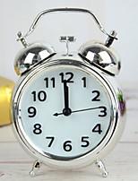 cheap -Alarm clock Analog Metal Quartz 1 pcs