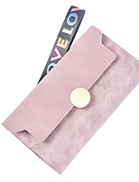 cheap -Women's Bags PU(Polyurethane) Wallet Buttons Brown / Dark Grey / Wine
