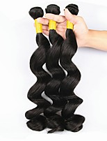 cheap -3 Bundles Indian Hair Deep Wave Human Hair Cosplay Suits / Natural Color Hair Weaves / Tea Party Favors 8-28 inch Human Hair Weaves Soft / Hot Sale / Fashion Natural Color Human Hair Extensions