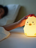 cheap -1pc LED Night Light Warm White Cartoon 5 V