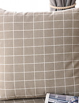 cheap -1 pcs Brocade / Polyester Pillow, Geometric Grid