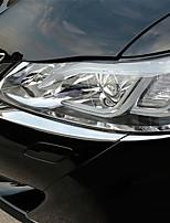abordables -4pcs Coche Ceja ligera Negocios Tipo de pasta For Linterna de Cabeza For Toyota Corona 2015 / 2016 / 2017