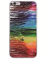 baratos -caso para apple iphone x xs xr xsmax / iphone 8 ultra-fino / padrão tampa traseira da pintura a óleo macio tpu para iphone x / iphone 8 plus / iphone 8