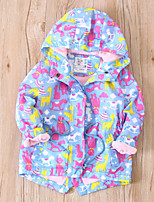 cheap -Kids Girls' Floral Long Sleeve Suit & Blazer