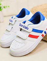 cheap -Girls' Shoes PU(Polyurethane) Spring & Summer Comfort Sneakers Walking Shoes Magic Tape for Teenager Red / Blue