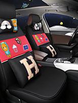 baratos -ODEER Capas para Assento Automotivo Capas de assento Preto / Vermelho Têxtil Comum for Universal Todos os Anos Todos os Modelos
