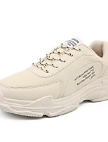 cheap -Men's Light Soles Mesh / Synthetics Summer Comfort Sneakers White / Black / Khaki
