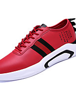 cheap -Men's PU(Polyurethane) Spring Comfort Sneakers Red / Pink / White / Black / White