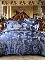 preiswerte -Bettbezug-Sets Geometrisch 100% Baumwolle Reaktivdruck 4 Stück