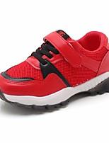 Недорогие -Мальчики Обувь Сетка Наступила зима Удобная обувь Кеды Пряжки для Дети Белый / Черный / Красный