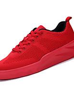 cheap -Men's Mesh Fall Comfort Sneakers White / Black / Red