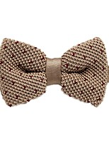 cheap -Unisex Party / Basic Bow Tie - Polka Dot / Color Block / Patchwork Bow