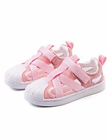 cheap -Girls' Shoes Mesh Spring / Fall Comfort Sneakers for Black / Pink