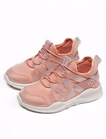 cheap -Girls' Shoes Mesh Spring / Fall Comfort Sneakers for White / Black / Pink