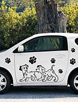 cheap -Black Car Stickers Cartoon Door Stickers Cartoon Stickers