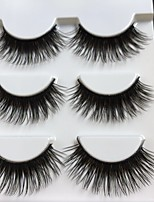 Недорогие -Глаза 1 pcs Натуральный / Кудрявый Повседневный макияж / Макияж на Хэллоуин / Макияж для вечеринки Толстые / Натуральная длина Макияж Профессиональный / модный