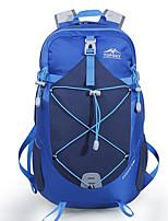 Недорогие -28 L Рюкзаки - Воздухопроницаемость На открытом воздухе Пешеходный туризм, Походы, Путешествия Красный, Синий