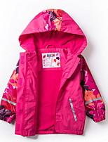 abordables -Niños Chica Un Color / Estampado Manga Larga Traje y Blazer