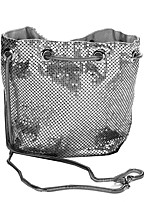 cheap -Women's Bags Alloy Tote Sequin Gold / Black / Silver