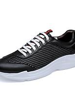 cheap -Men's Cowhide Summer Comfort Sneakers Black