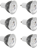cheap -6pcs 3 W 300 lm E14 / GU10 / GU5.3 LED Spotlight 3 LED Beads High Power LED Decorative Warm White / Cold White 85-265 V