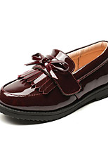 cheap -Boys' / Girls' Shoes PU(Polyurethane) Spring / Fall Comfort Loafers & Slip-Ons for Black / Burgundy