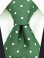 cheap -Men's Party / Work Necktie - Polka Dot / Color Block / Jacquard
