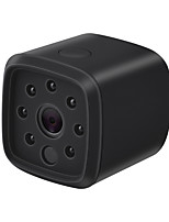 abordables -HQCAM 720P WIFI Wireless Mini IP Camera Night Vision Motion Detect Mini Camcorder Loop Video Recorder Built-in Battery Body Cam 1 mp IP Camera Interior Support0 GB