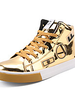 cheap -Men's PU(Polyurethane) Spring Comfort Sneakers Gold / Black / Silver