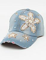 Недорогие -Универсальные Классический / Праздник Бейсболка Цветочный принт Бабочка