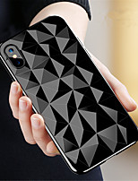 cheap -Case For Apple iPhone X / iPhone 8 Transparent Back Cover Geometric Pattern Soft TPU for iPhone X / iPhone 8 Plus / iPhone 8
