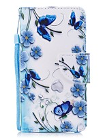 cheap -Case For Huawei P9 Wallet / Card Holder / Flip Full Body Cases Flower Hard PU Leather for Huawei P9