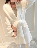 abordables -Qualité supérieure Peignoir, Couleur Pleine 100 % Polyester Salle de  Bain 1 pcs