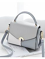 cheap -Women's Bags PU(Polyurethane) Shoulder Bag Zipper Blushing Pink / Gray / Wine