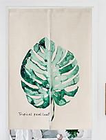 preiswerte -Türverkleidung Gardinen Vorhänge Esszimmer Geometrisch Polyester Bedruckt