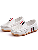 cheap -Boys' / Girls' Shoes Rubber Spring & Summer / Fall & Winter Comfort Flats Walking Shoes for Kids White / Black / Brown