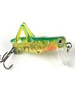 Недорогие -2 pcs штук Рыболовная приманка Жесткая наживка Пластик / Металл Легко для того чтобы снести Морское рыболовство / Ловля нахлыстом / Ловля на приманку